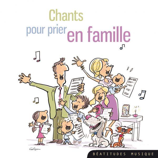 Chants pour prier en famille – CD