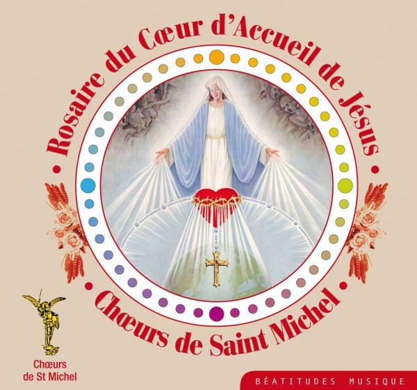 Rosaire du coeur d'Accueil de Jésus – Coffret 4 CD