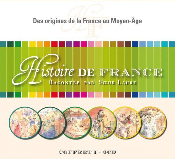 Histoire de France –  I – Coffret CD Des origines de la France au Moyen-Age