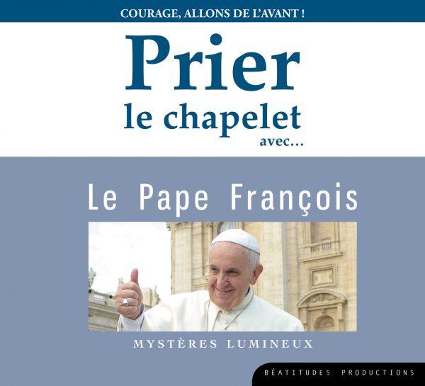 Prier le chapelet avec le pape François – CD