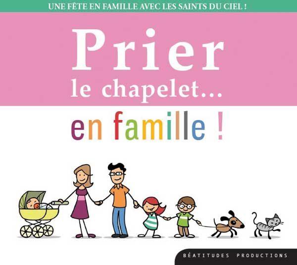 Prier le chapelet en famille – CD
