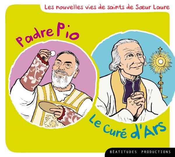 Padre Pio,  le Curé d'Ars – CD