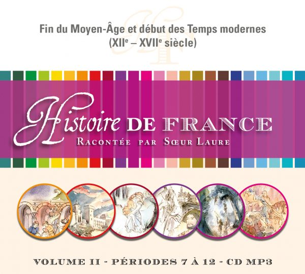Histoire de France –  II – CD MP3