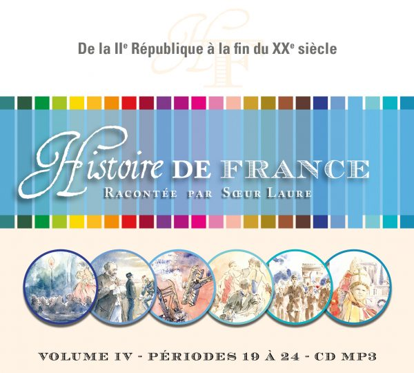 Histoire de France –  IV – CD MP3
