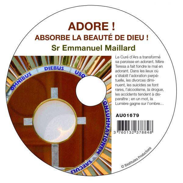 Adore ! Absorbe la beauté de Dieu ! – CD
