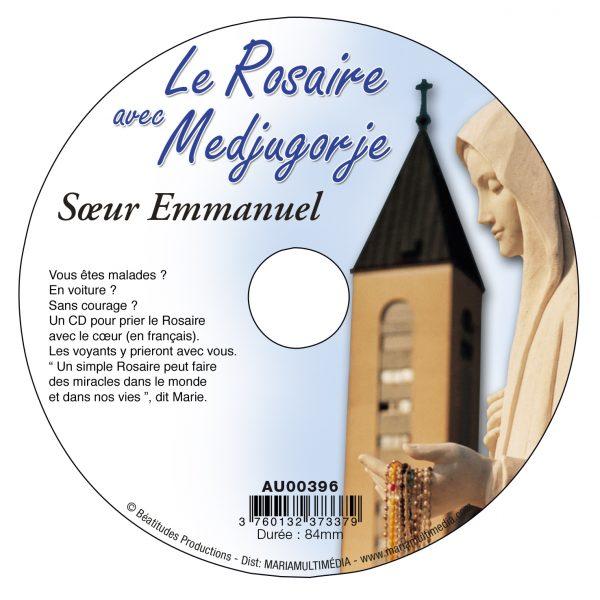 Le Rosaire avec Medjugorje – CD