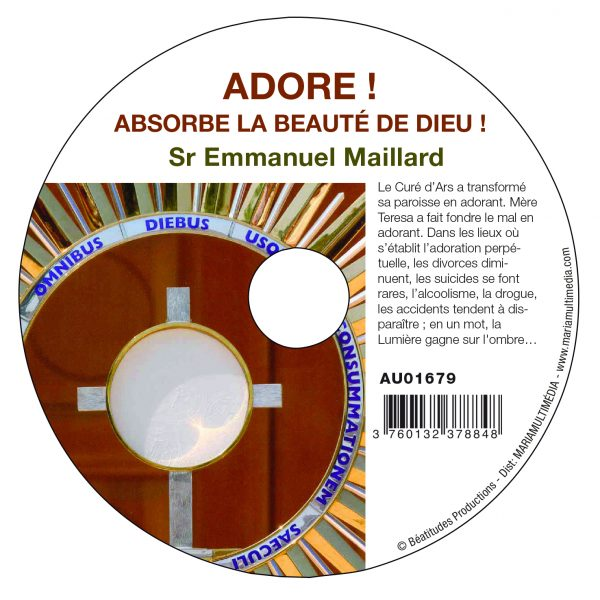 Adore ! Absorbe la beauté de Dieu ! – CD