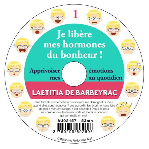 Je libère mes hormones du bonheur ! – CD