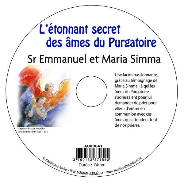 L'étonnant secret des âmes du purgatoire – CD