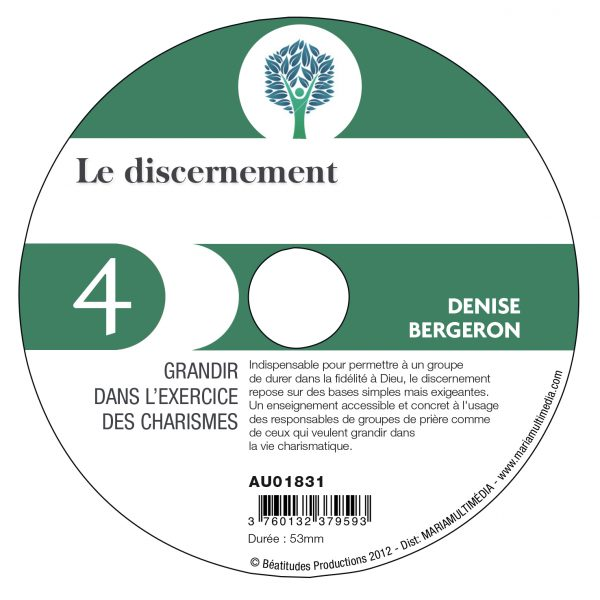 Le discernement – CD