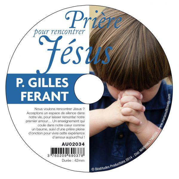 Prière pour rencontrer Jésus – CD