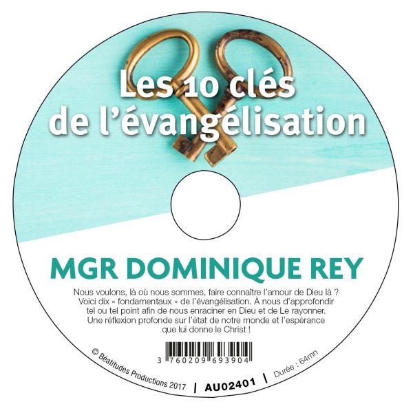 Les 10 clés de l'évangélisation – CD
