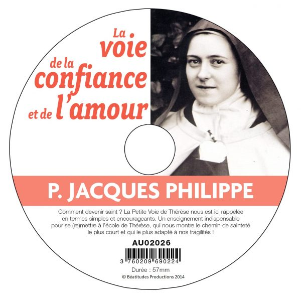 La voie de la confiance et de l'amour – CD