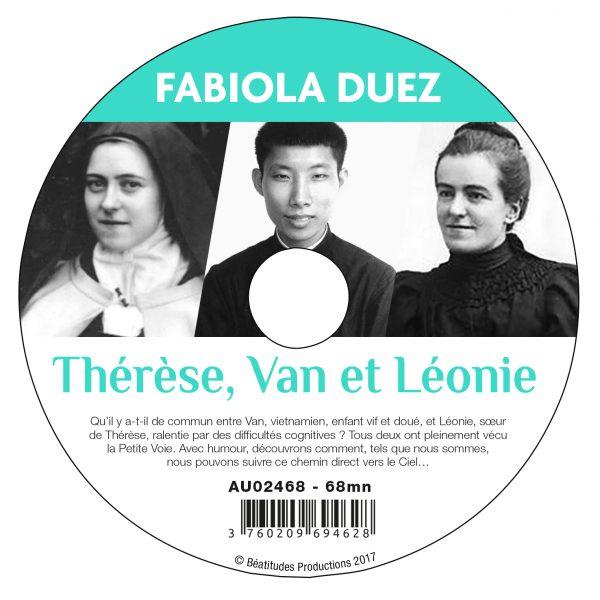 Thérèse, Van et Léonie – CD