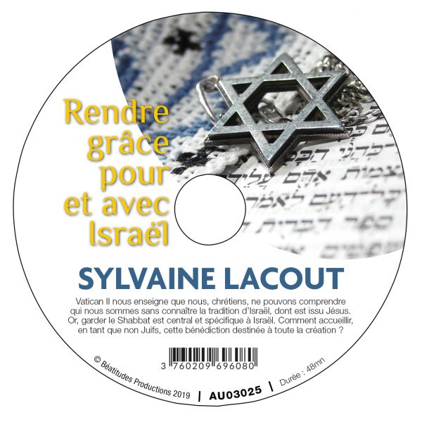 Rendre grâce pour et avec Israël – CD
