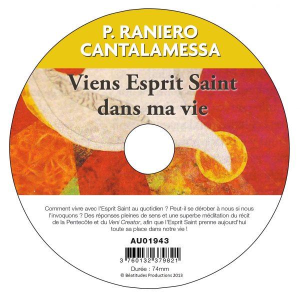 Viens Esprit Saint dans ma vie – CD