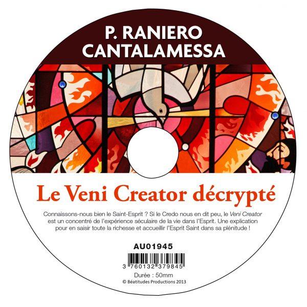 Le Veni Creator décrypté – CD