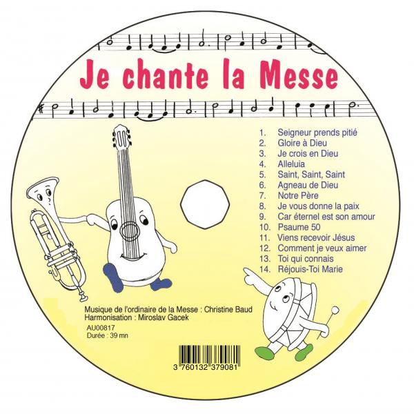Je chante la messe – CD