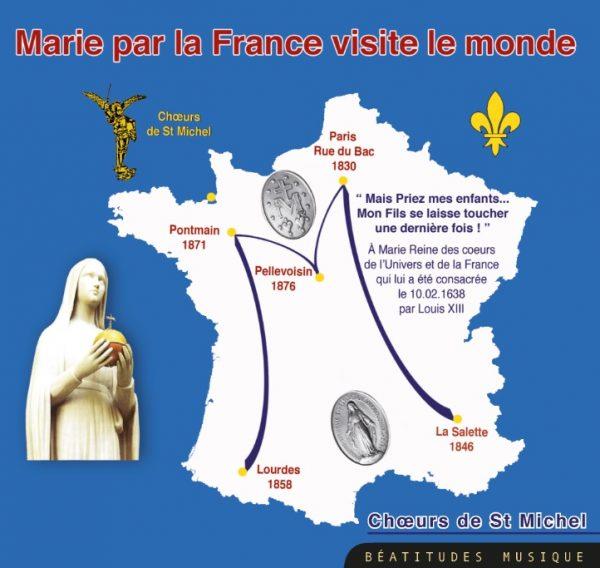 Marie par la France visite le monde – CD