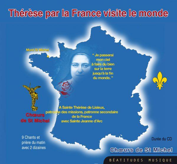 Thérèse par la France visite le monde – CD