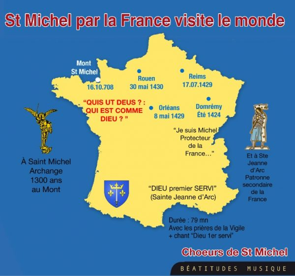Saint Michel par la France visite le monde – CD