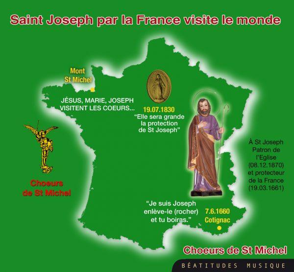 Saint Joseph par la France visite le monde – CD