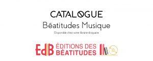 Catalogue Béatitudes Musique